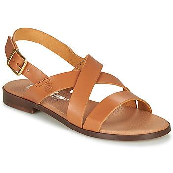 Cipők Női Szandálok / Saruk Betty London MADI Konyak