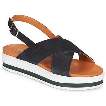 Cipők Női Szandálok / Saruk Betty London MAFI Tengerész