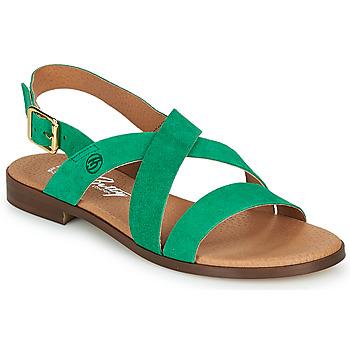 Cipők Női Szandálok / Saruk Betty London MATOSSI Zöld