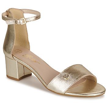 Cipők Női Szandálok / Saruk Betty London INNAMATA Arany