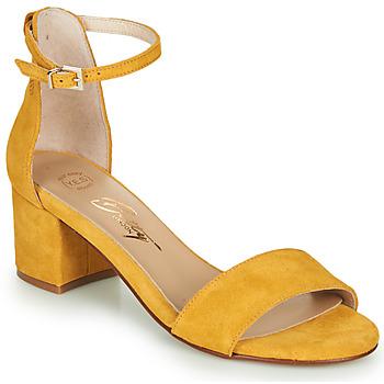 Cipők Női Szandálok / Saruk Betty London INNAMATA Citromsárga