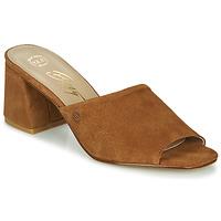 Cipők Női Papucsok Betty London MELIDA Konyak