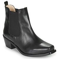 Cipők Női Bokacsizmák Betty London MERKATO Fekete