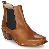 Cipők Női Bokacsizmák Betty London MERKATO Konyak