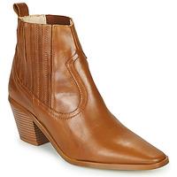 Cipők Női Bokacsizmák Betty London MIRTA Konyak
