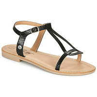 Cipők Női Szandálok / Saruk Betty London MISSINE Fekete