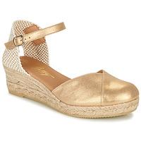 Cipők Női Szandálok / Saruk Betty London INONO Arany
