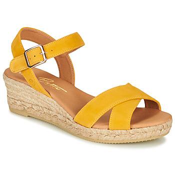 Cipők Női Szandálok / Saruk Betty London GIORGIA Citromsárga