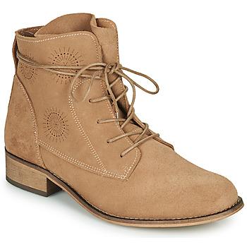 Cipők Női Csizmák Betty London MARILU Bézs