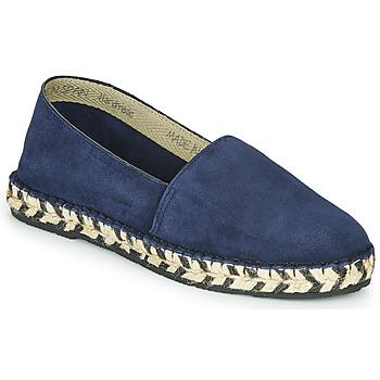 Cipők Női Gyékény talpú cipők Betty London MARILA Tengerész