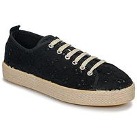 Cipők Női Rövid szárú edzőcipők Betty London MARISSOU Fekete