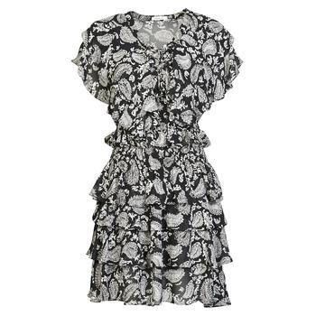 Ruhák Női Rövid ruhák Replay  Fekete  / Fehér