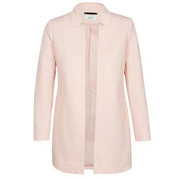 Ruhák Női Kabátok Only ONLSOHO Rózsaszín