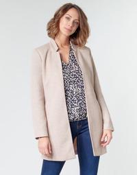 Ruhák Női Kabátok Only ONLSOHO Bézs