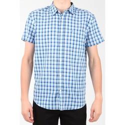 Ruhák Férfi Rövid ujjú ingek Wrangler Koszula  S/S 1 PKT Shirt W5860LIRQ Wielokolorowy