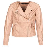 Ruhák Női Bőrkabátok / műbőr kabátok Vero Moda VMRIA FAV Rózsaszín