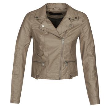 Ruhák Női Bőrkabátok / műbőr kabátok Vero Moda VMULTRAMALOU Tópszínű