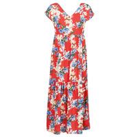 Ruhák Női Hosszú ruhák Betty London MALIN Piros / Fehér / Kék