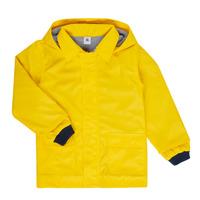 Ruhák Gyerek Parka kabátok Petit Bateau FATAH Citromsárga