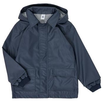 Ruhák Gyerek Parka kabátok Petit Bateau FATAH Tengerész