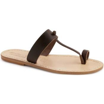 Cipők Női Papucsok Gianluca - L'artigiano Del Cuoio 554 U MORO LGT-CUOIO Testa di Moro