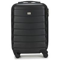 Táskák Keményfedeles bőröndök David Jones CHAUVETTINI 40L Szürke