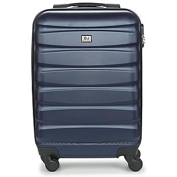 Táskák Keményfedeles bőröndök David Jones CHAUVETTINI 40L Tengerész