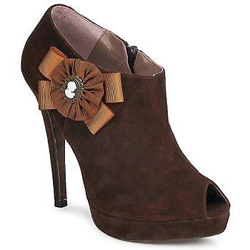 Shoes Női Bokacsizmák Fericelli ASSETE Barna