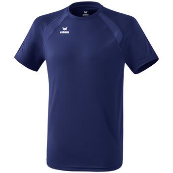 Ruhák Gyerek Rövid ujjú pólók Erima T-shirt enfant  Performance bleu