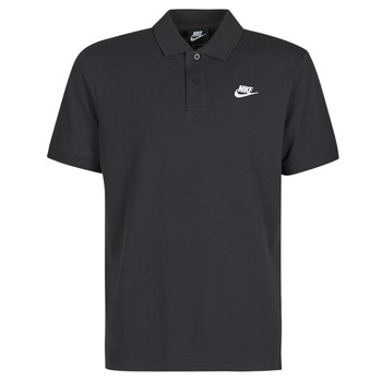 Ruhák Férfi Rövid ujjú galléros pólók Nike M NSW CE POLO MATCHUP PQ Fekete  / Fehér