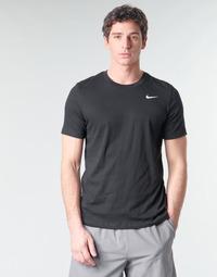 Ruhák Férfi Rövid ujjú pólók Nike M NK DRY TEE DFC CREW SOLID Fekete  / Fehér