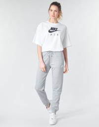 Ruhák Női Futónadrágok / Melegítők Nike W NSW ESSNTL PANT REG FLC Szürke / Fehér