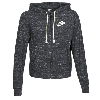 Ruhák Női Pulóverek Nike W NSW GYM VNTG HOODIE FZ Szürke