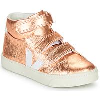 Cipők Lány Magas szárú edzőcipők Veja SMALL-ESPLAR-MID Rózsaszín