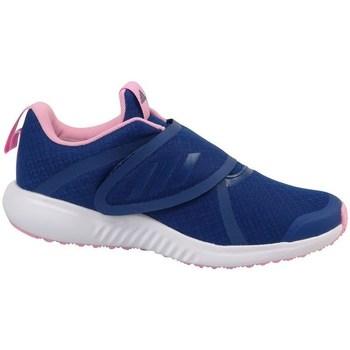 Cipők Lány Futócipők adidas Originals Fortarun X CF K Żółte,Granatowe