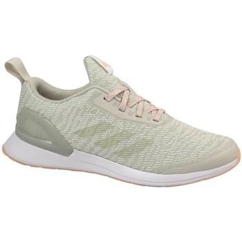 Cipők Gyerek Futócipők adidas Originals Rapidarun X Knit J Oliwkowe,Beżowe
