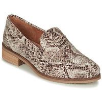 Cipők Női Mokkaszínek André BABOUA Bézs