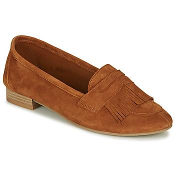 Cipők Női Mokkaszínek André BARCELONA Teve