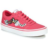 Cipők Lány Rövid szárú edzőcipők Vans WARD Rózsaszín
