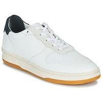 Cipők Rövid szárú edzőcipők Claé MALONE Fehér / Kék