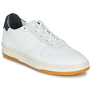 Cipők Rövid szárú edzőcipők Clae MALONE Fehér / Kék