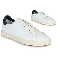 Cipők Rövid szárú edzőcipők Claé BRADLEY Fehér / Kék