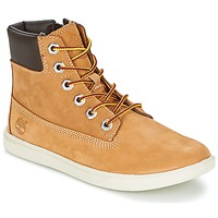 Shoes Gyerek Csizmák Timberland GROVETON 6IN LACE WITH SIDE ZIP Búza