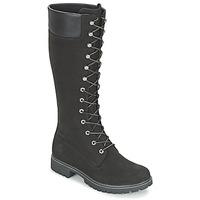 Cipők Női Városi csizmák Timberland WOMEN'S PREMIUM 14IN WP BOOT Fekete  / Nubuk