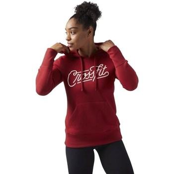 Ruhák Női Pulóverek Reebok Sport Crossfit Piros