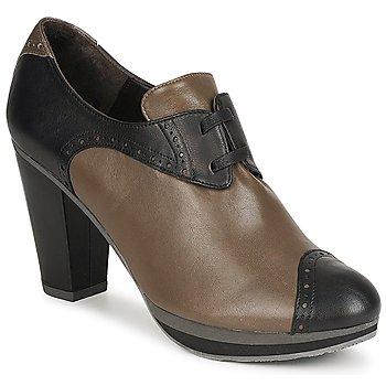 Cipők Női Bokacsizmák Audley GETA LACE Barna