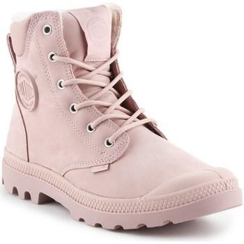 Cipők Női Csizmák Palladium Manufacture Pampa Sport Rózsaszín