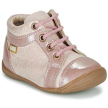 Cipők Lány Csizmák GBB OMANE Rózsaszín