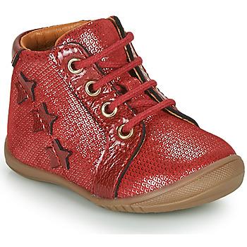 Cipők Lány Csizmák GBB DAVIA Piros