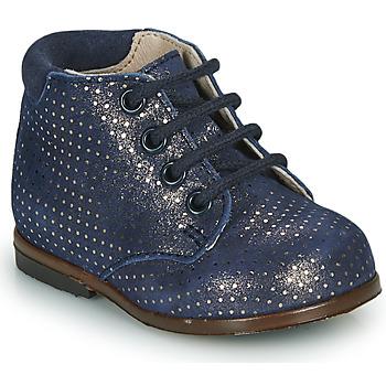 Cipők Lány Magas szárú edzőcipők GBB TACOMA Kék